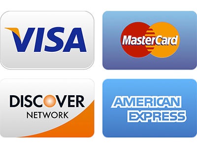Accept all Credit Cards